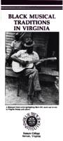Black Musical Traditions in Virginia