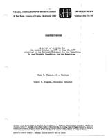 1978 Winter NEH Quarterly Report
