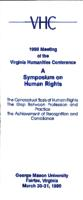 A Symposium on Human Rights