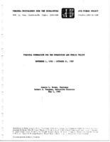 1985 NEH Report